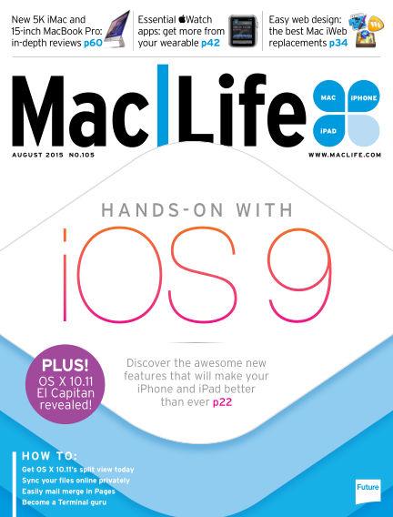 Mac Life July 21, 2015 00:00