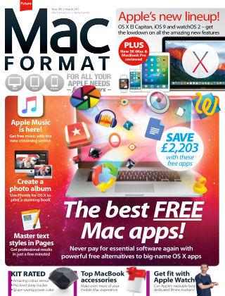 MacFormat August 2015