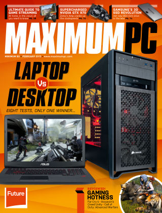 Maximum PC February 2015