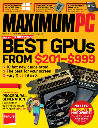 Maximum PC November 2015