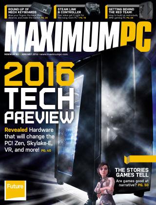 Maximum PC January 2016