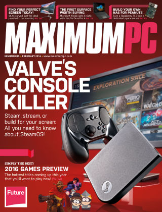 Maximum PC February 2016