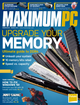 Maximum PC March 2016