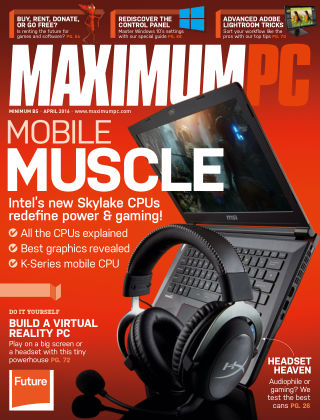 Maximum PC April 2016