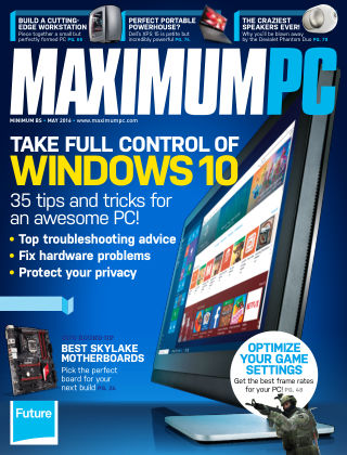 Maximum PC May 2016