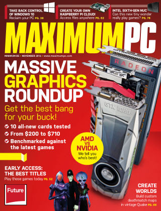 Maximum PC November 2016