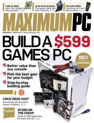 Maximum PC Magazine Aug 2017