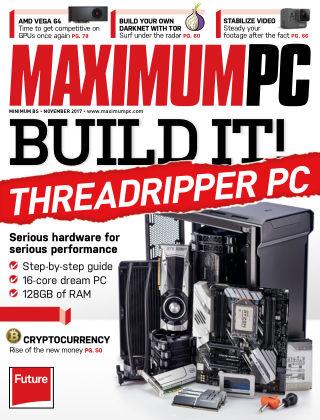 Maximum PC Magazine Nov 2017