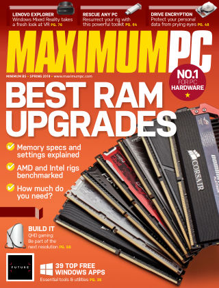 Maximum PC Spring 2018