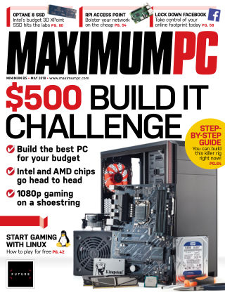 Maximum PC May 2018