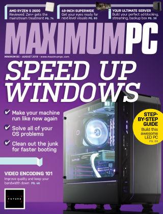 Maximum PC Aug 2018
