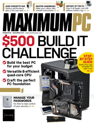 Maximum PC Dec 2019