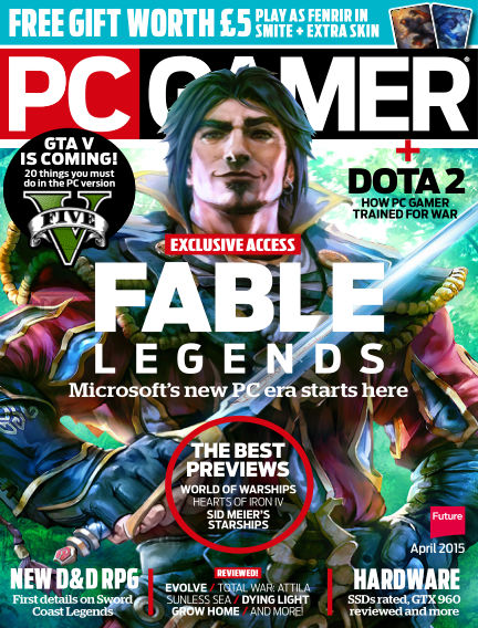 PC Gamer (UK) March 12, 2015 00:00