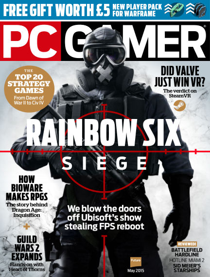 PC Gamer (UK) April 09, 2015 00:00