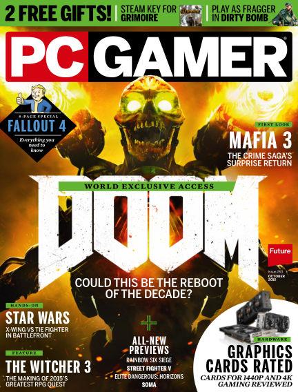 PC Gamer (UK) August 27, 2015 00:00