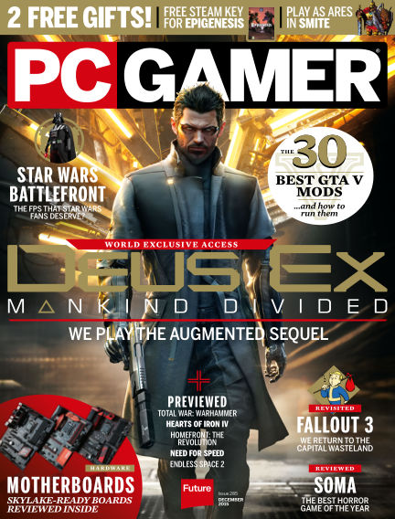 PC Gamer (UK) October 22, 2015 00:00