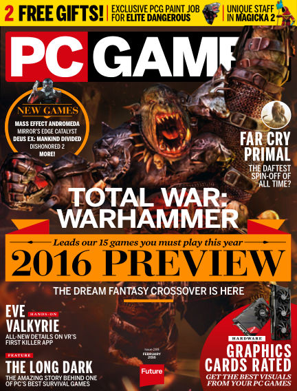 PC Gamer (UK) January 14, 2016 00:00