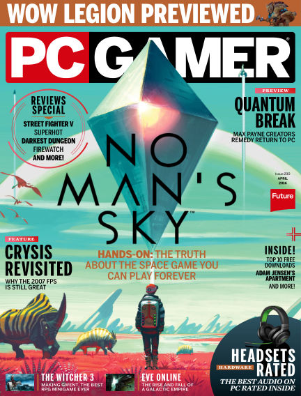 PC Gamer (UK) March 10, 2016 00:00