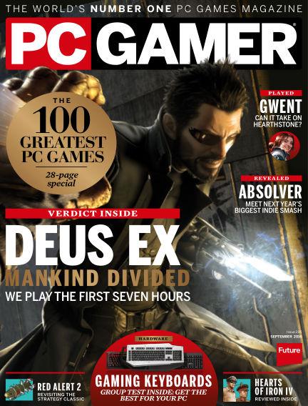 PC Gamer (UK) July 28, 2016 00:00