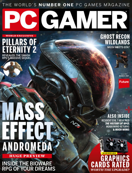 PC Gamer (UK) February 09, 2017 00:00