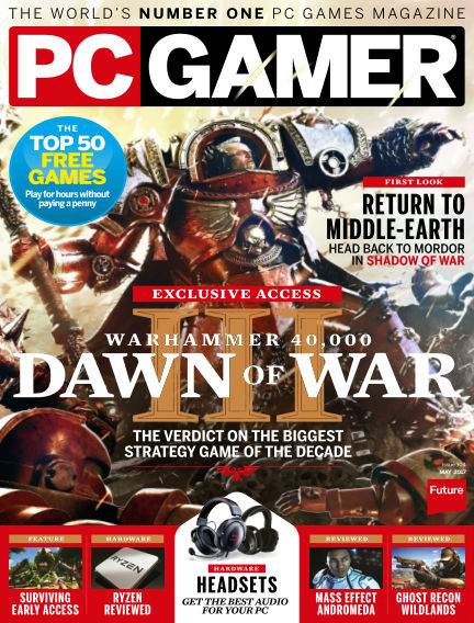 PC Gamer (UK) April 06, 2017 00:00
