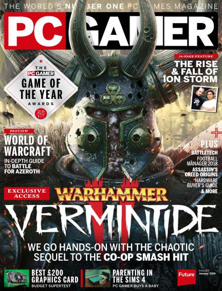 PC Gamer (UK) December 14, 2017 00:00