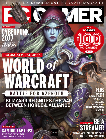 PC Gamer (UK) July 26, 2018 00:00