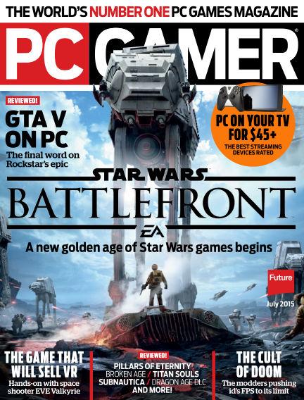 PC Gamer (US) May 26, 2015 00:00
