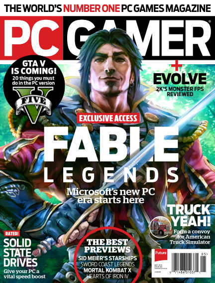 PC Gamer (US) March 31, 2015 00:00