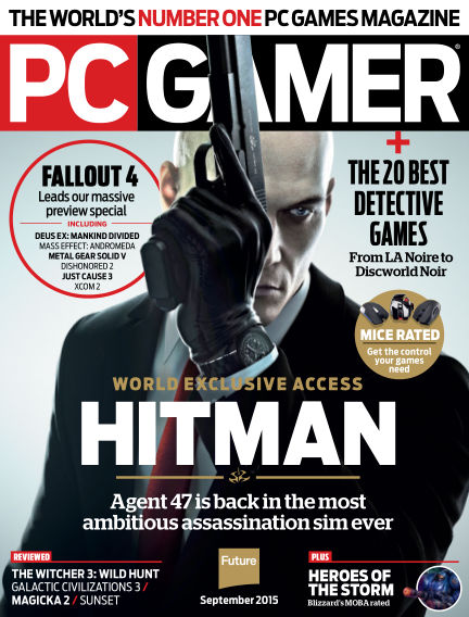 PC Gamer (US) July 21, 2015 00:00