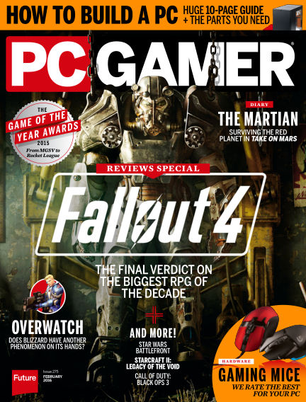 PC Gamer (US) January 05, 2016 00:00