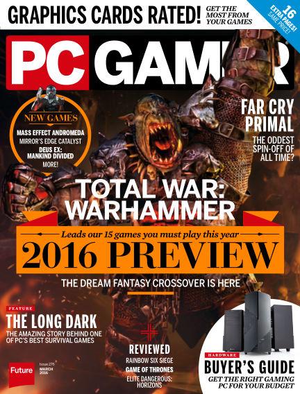 PC Gamer (US) February 02, 2016 00:00