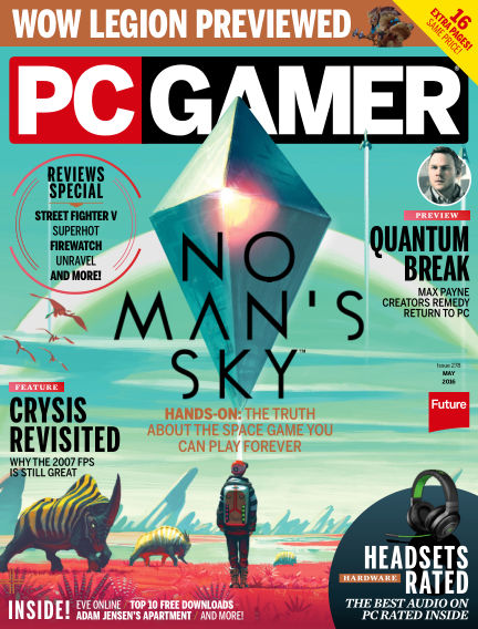 PC Gamer (US) March 29, 2016 00:00