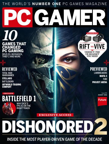 PC Gamer (US) June 21, 2016 00:00