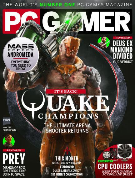 PC Gamer (US) September 13, 2016 00:00