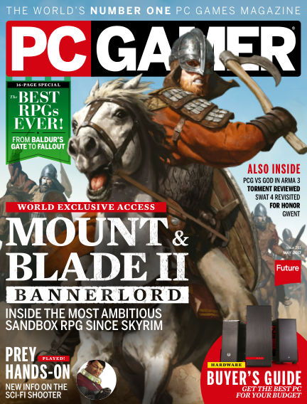 PC Gamer (US) March 28, 2017 00:00