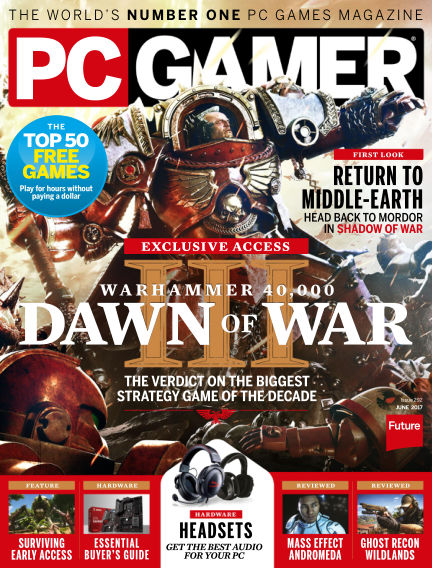 PC Gamer (US) April 25, 2017 00:00