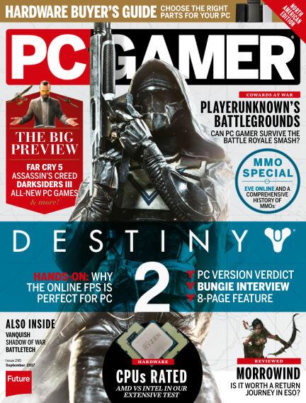 PC Gamer (US) July 18, 2017 00:00