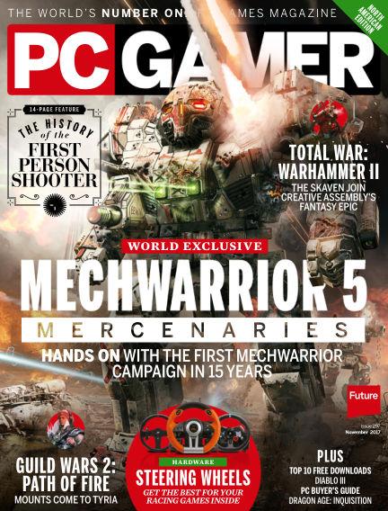 PC Gamer (US) September 12, 2017 00:00
