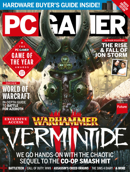 PC Gamer (US) January 02, 2018 00:00