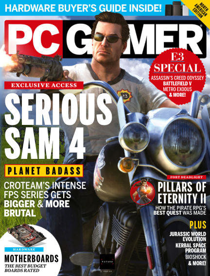 PC Gamer (US) July 17, 2018 00:00