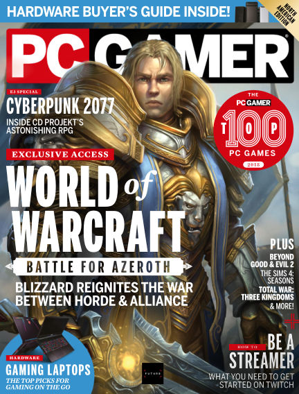 PC Gamer (US) August 14, 2018 00:00