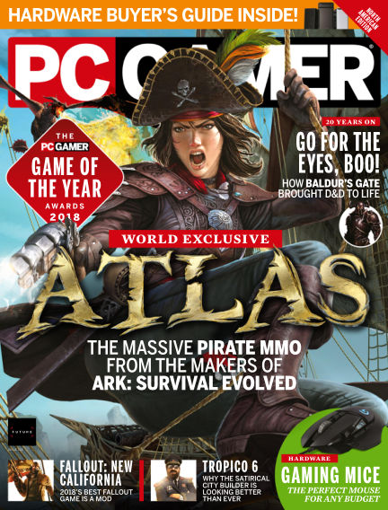 PC Gamer (US) January 01, 2019 00:00
