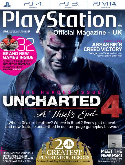 PlayStation Official Magazine (UK) January 16, 2015 00:00