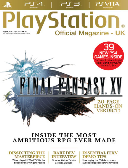 PlayStation Official Magazine (UK) March 13, 2015 00:00