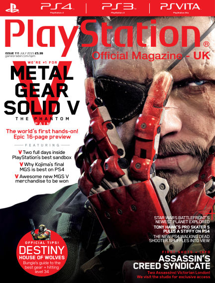 PlayStation Official Magazine (UK) June 05, 2015 00:00
