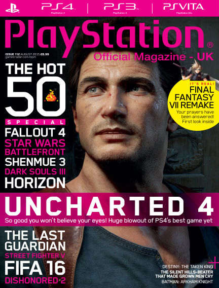 PlayStation Official Magazine (UK) July 03, 2015 00:00
