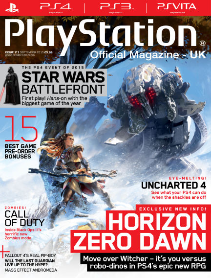 PlayStation Official Magazine (UK) July 31, 2015 00:00