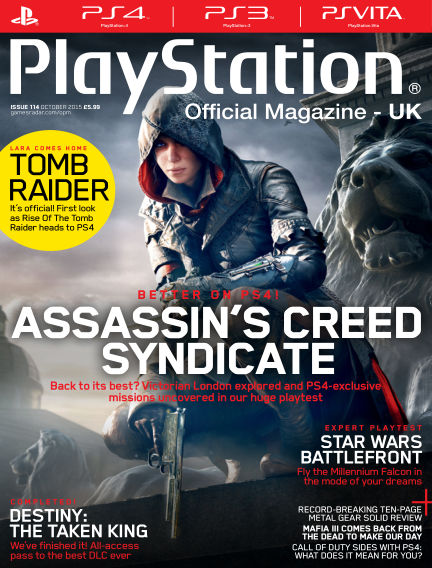 PlayStation Official Magazine (UK) August 28, 2015 00:00