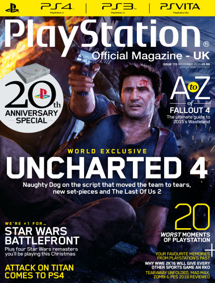 PlayStation Official Magazine (UK) September 25, 2015 00:00